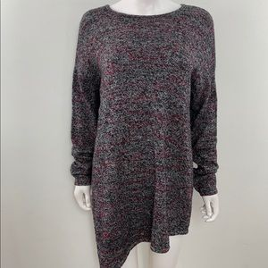 Pure J Jill Scoop Neck Wool Blend Sweater Tunic